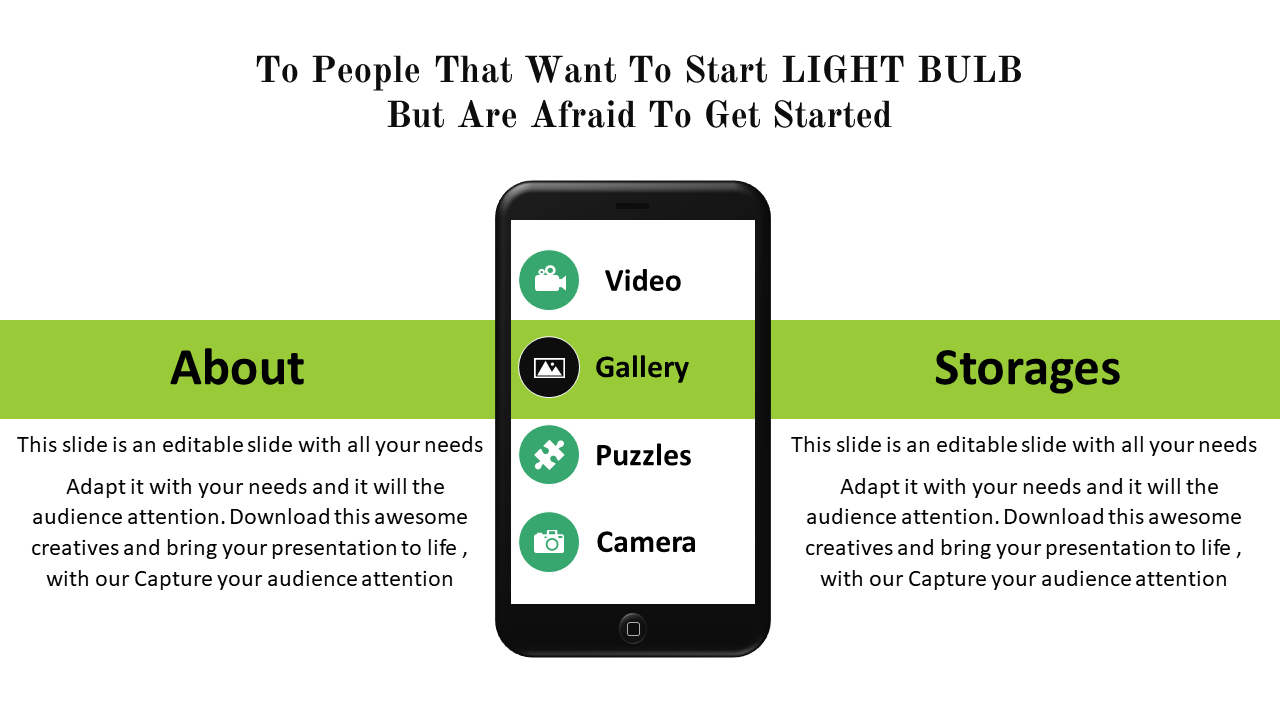 Free-mobile App Powerpoint Presentation