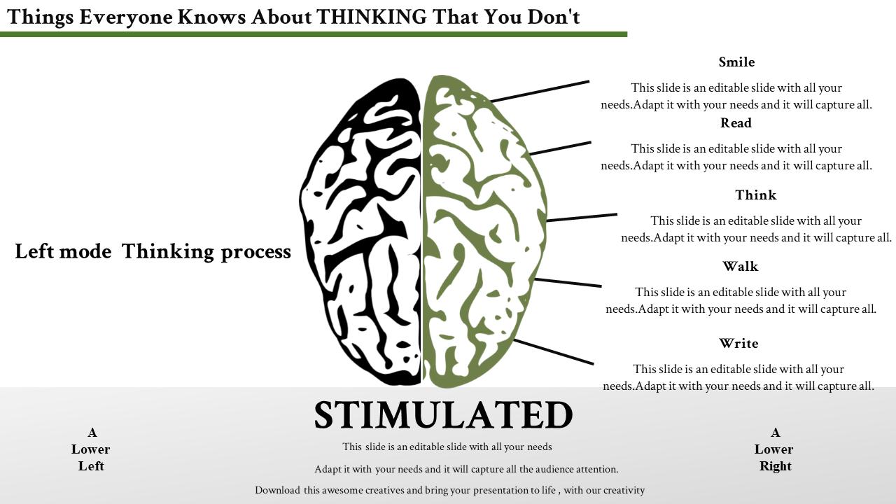 Slideegg Brain Powerpoint Template Thinking Templates 5