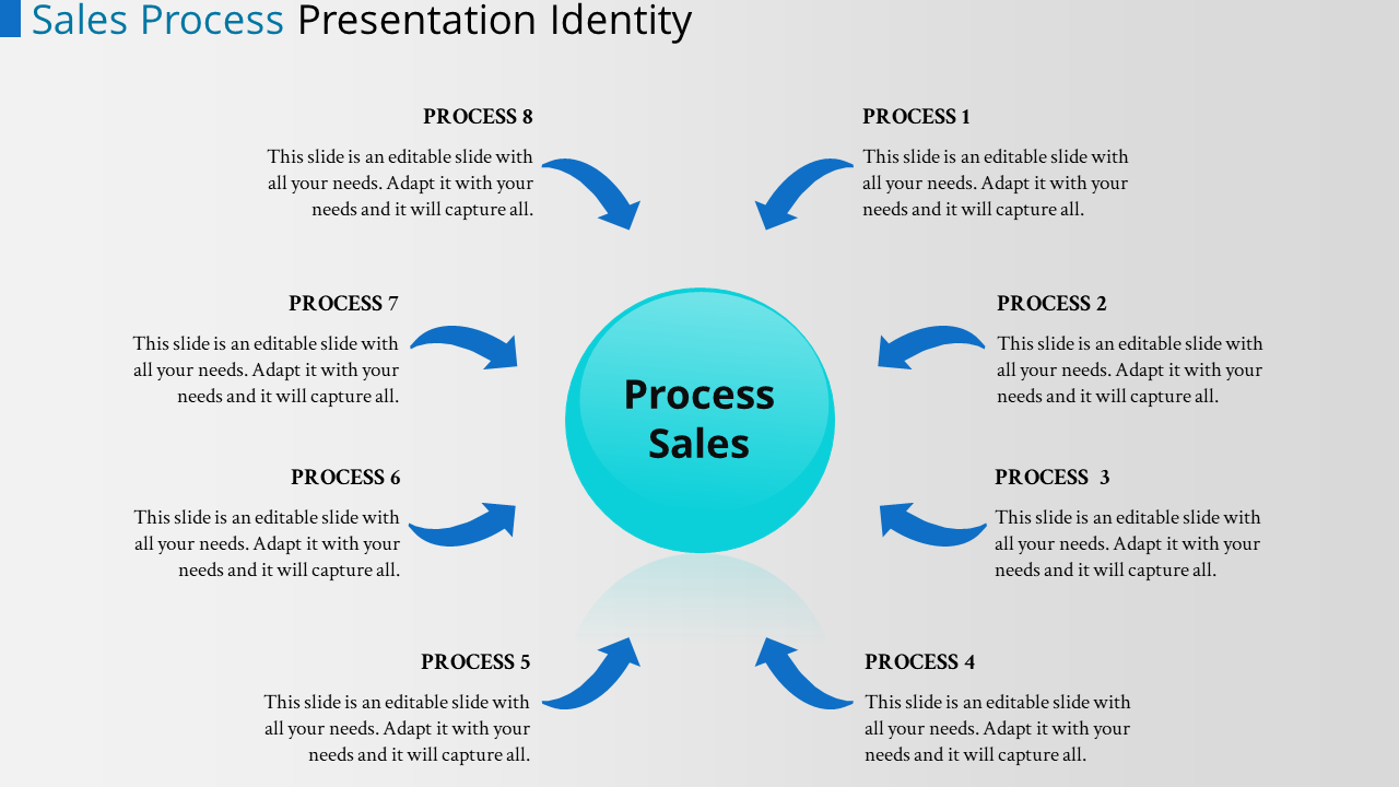 SlideEgg | template powerpoint process flow-sales-process-8