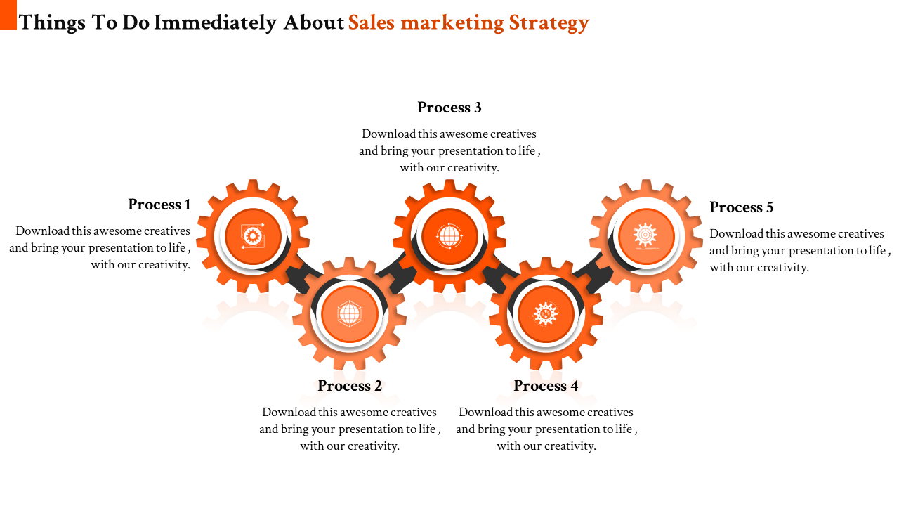sales strategy template powerpoint