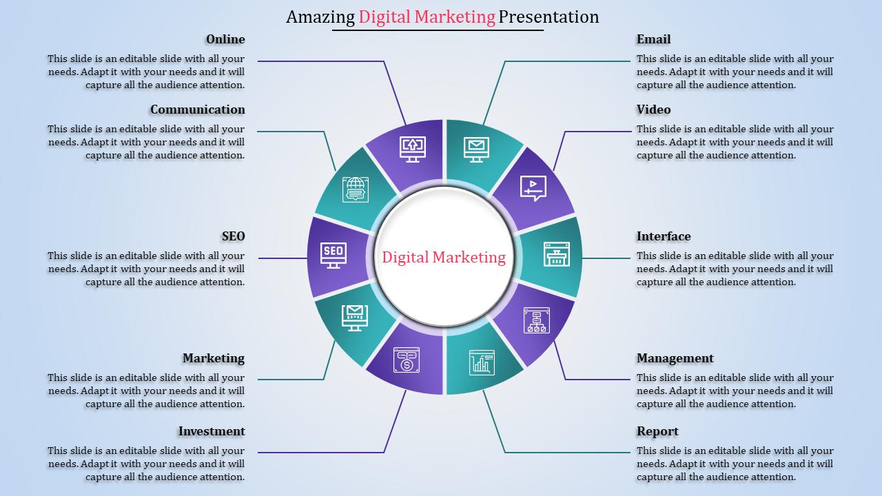 Digital Marketing Presentation Ppt To Download (PPT) | SlideEgg