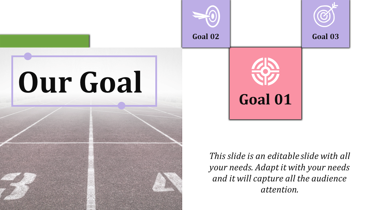 Free - Goals Presentation Template
