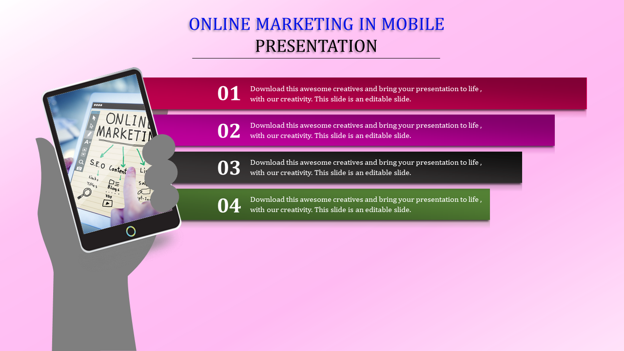 Free - Simple Online Marketing PPT Download