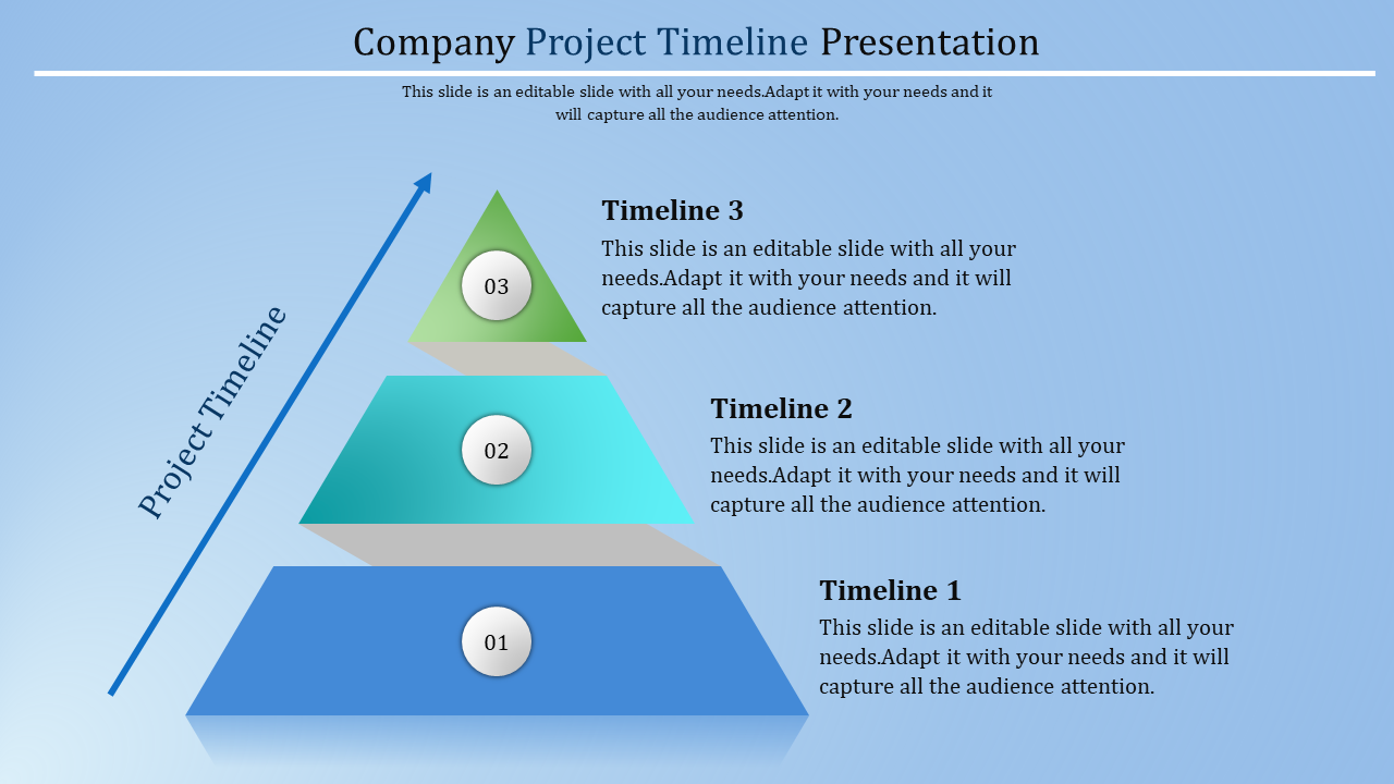 Growth Project Timeline Template Powerpoint