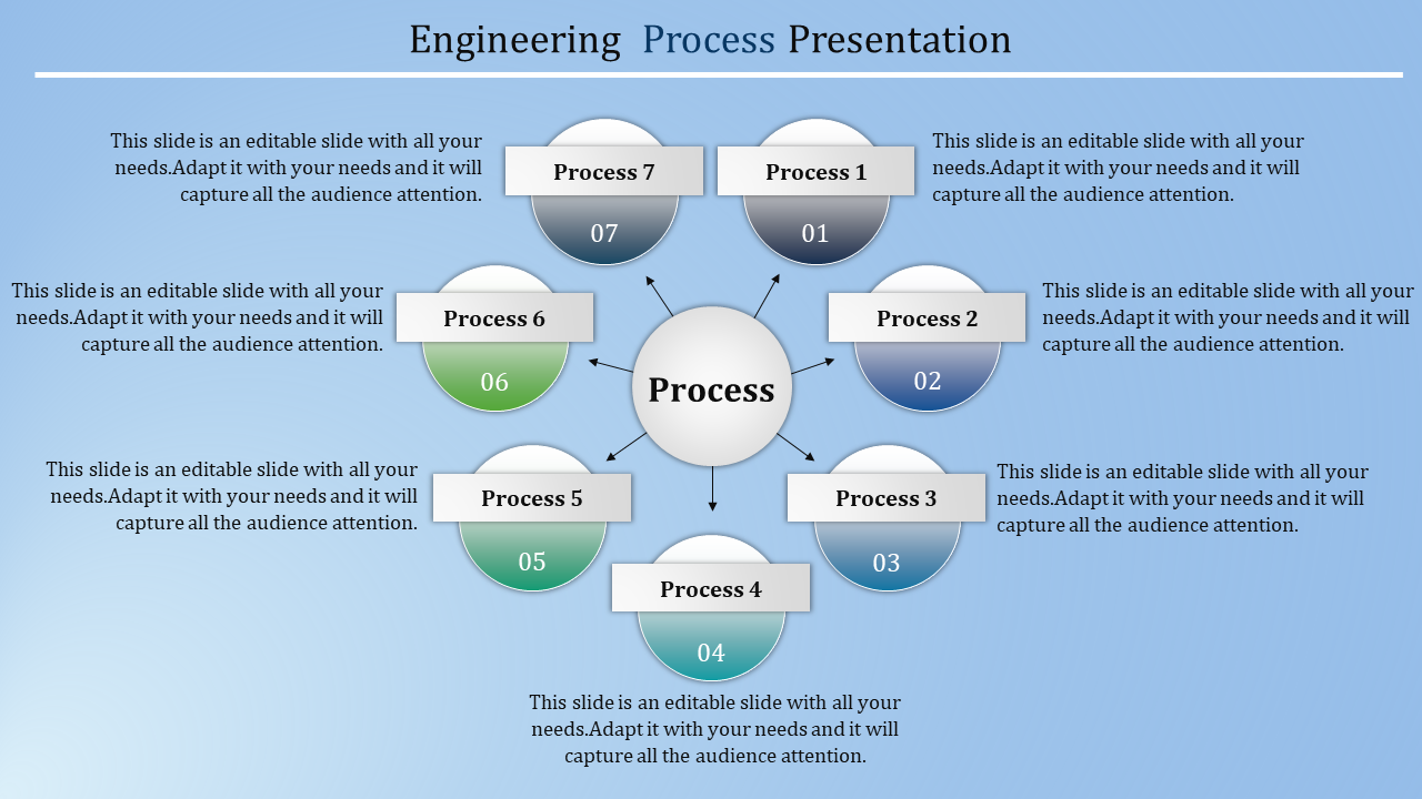 Free - Process Powerpoint Template