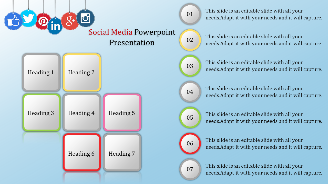 Free social media powerpoint templates free social media.