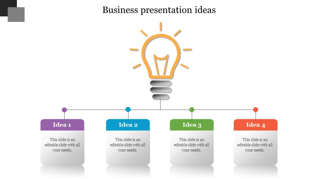 Best Business Presentation Ideas