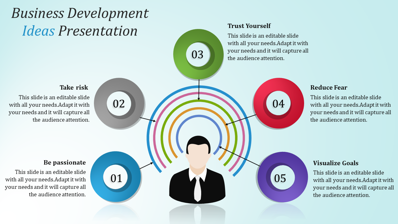 Business Development Presentation Idea To Download (PPT