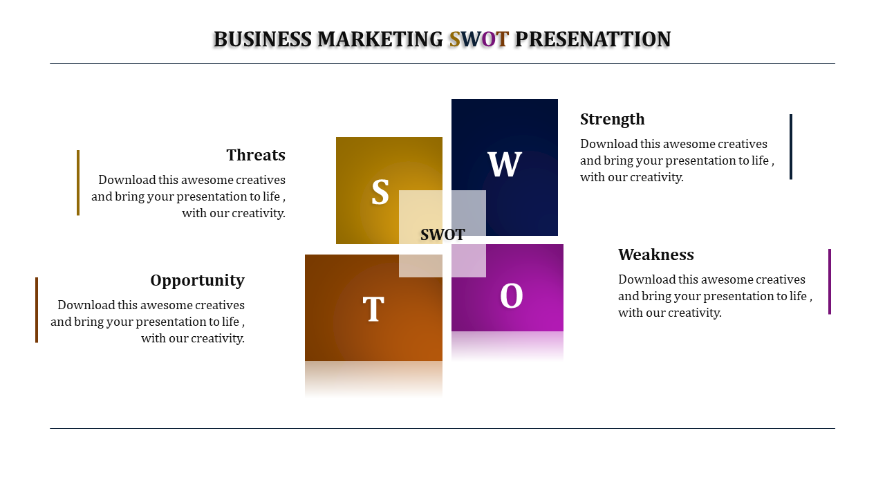 Window Model Business SWOT Analysis Template