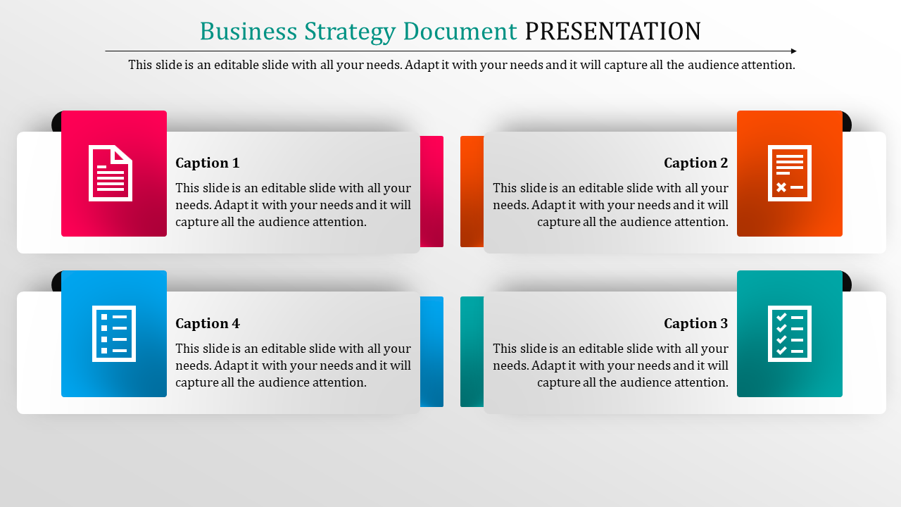 Business Strategy Document Template