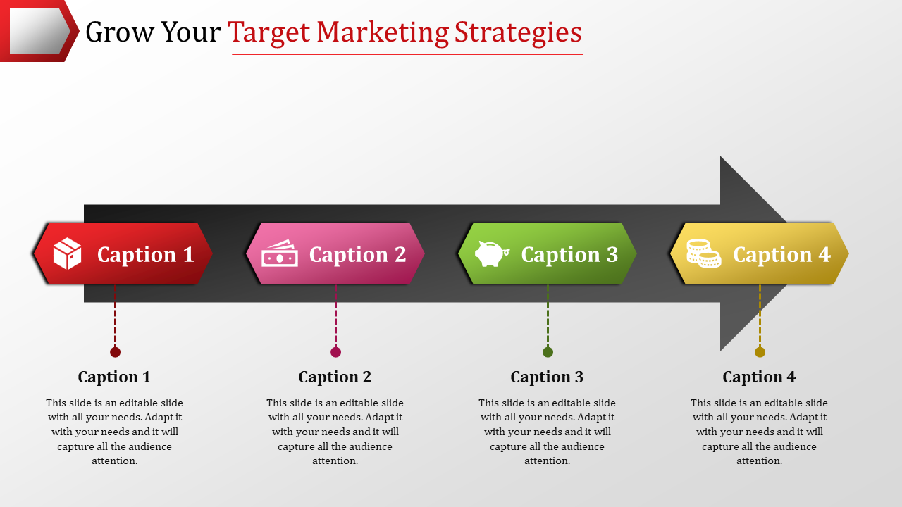 The Best Target Marketing Strategies PowerPoint Model