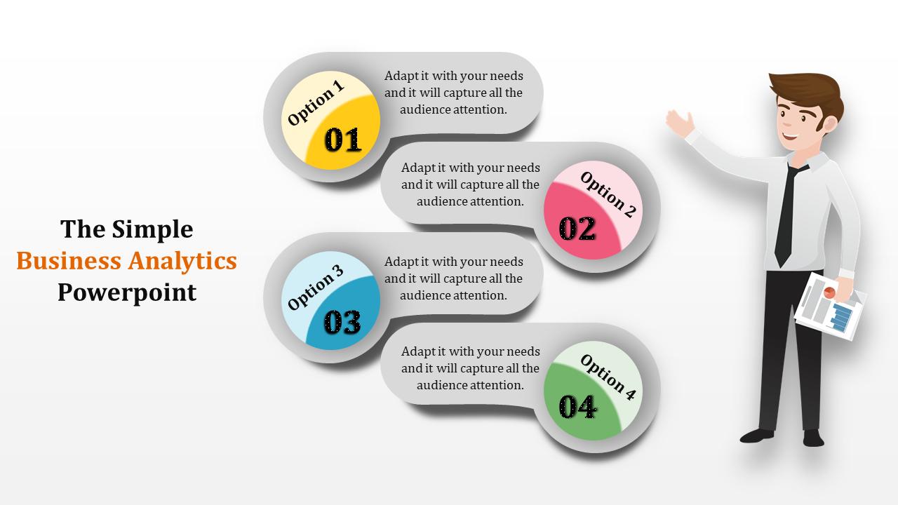 Business Analytics Powerpoint-Zigzag Model