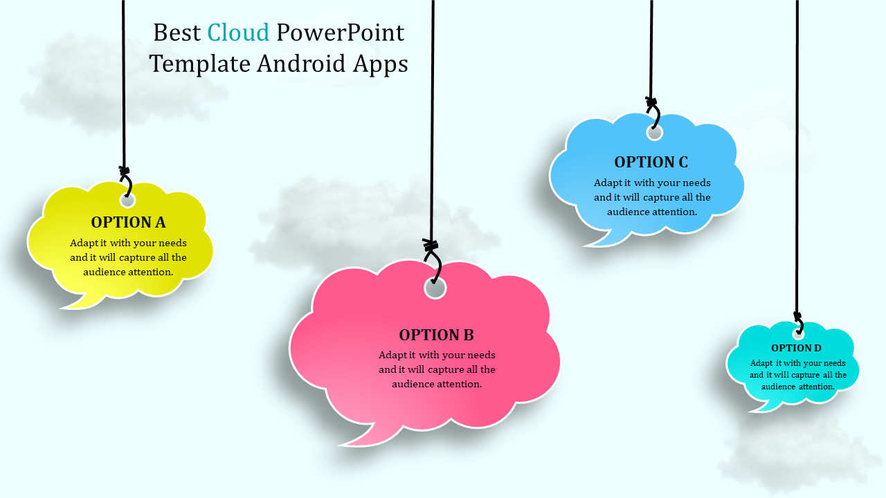 Cloud Powerpoint Template