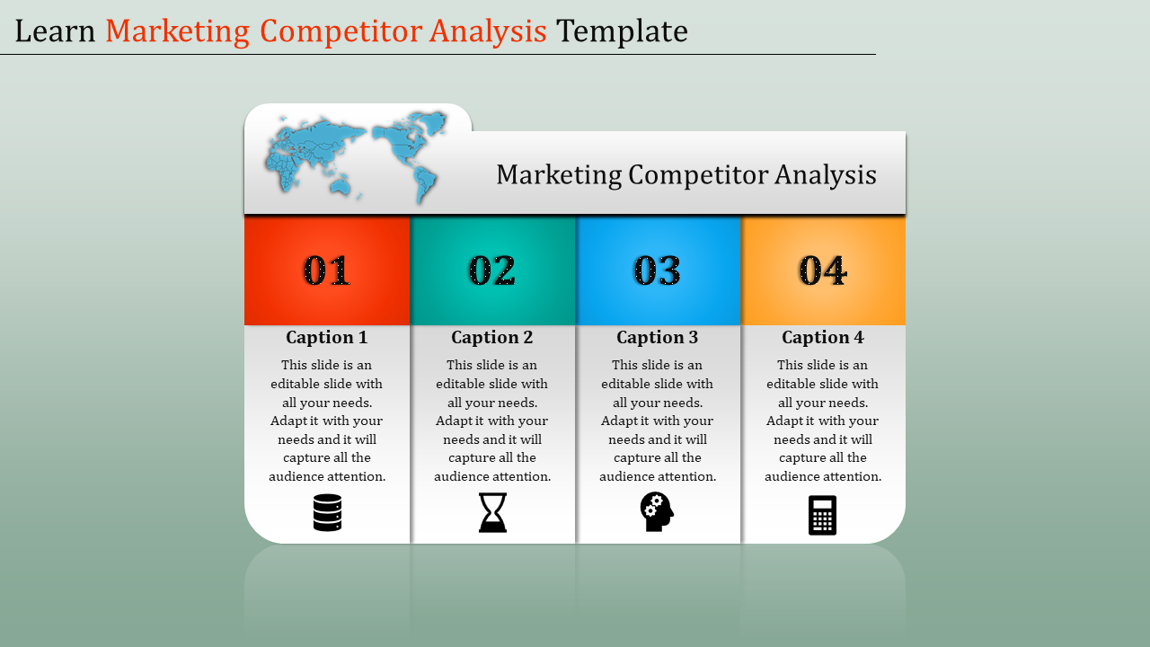 Simple Marketing Competitor Analysis Template