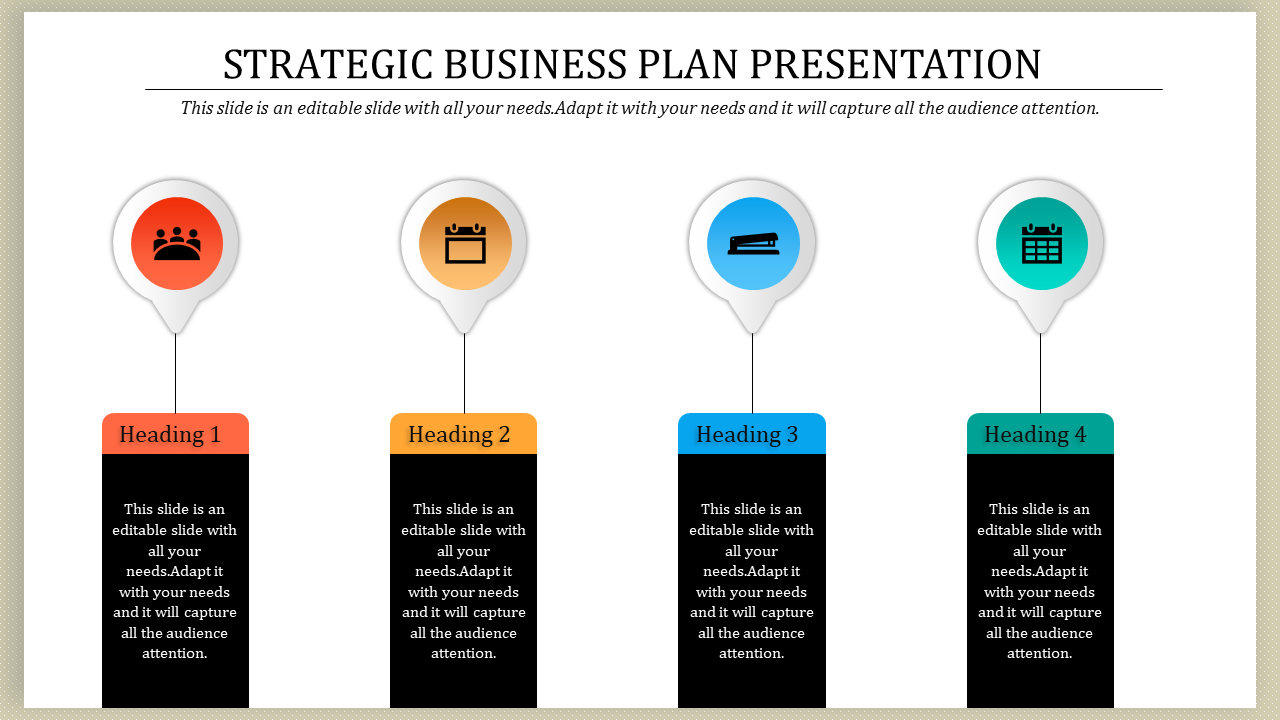 Free - Strategic Business Plan PPT