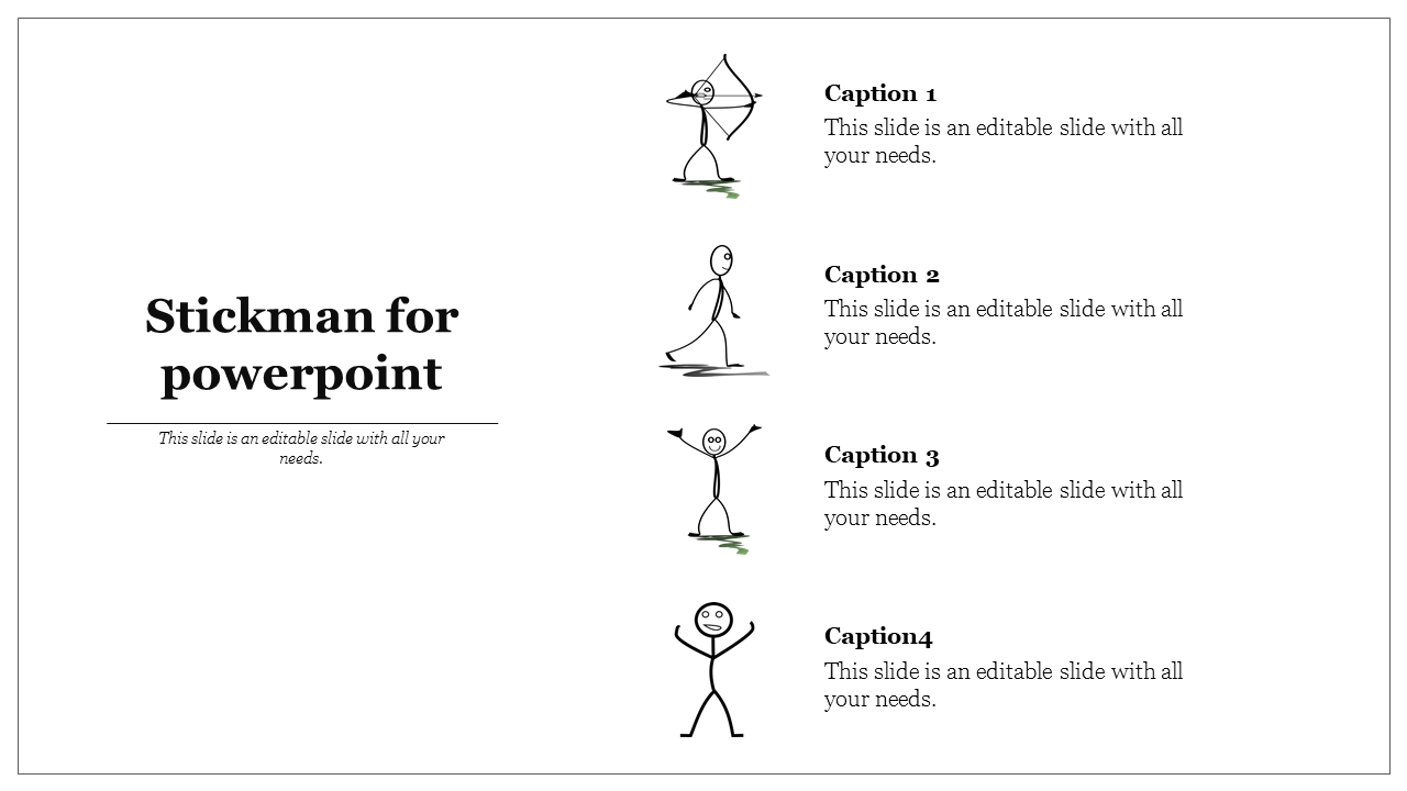 Creative Stickman For Powerpoint