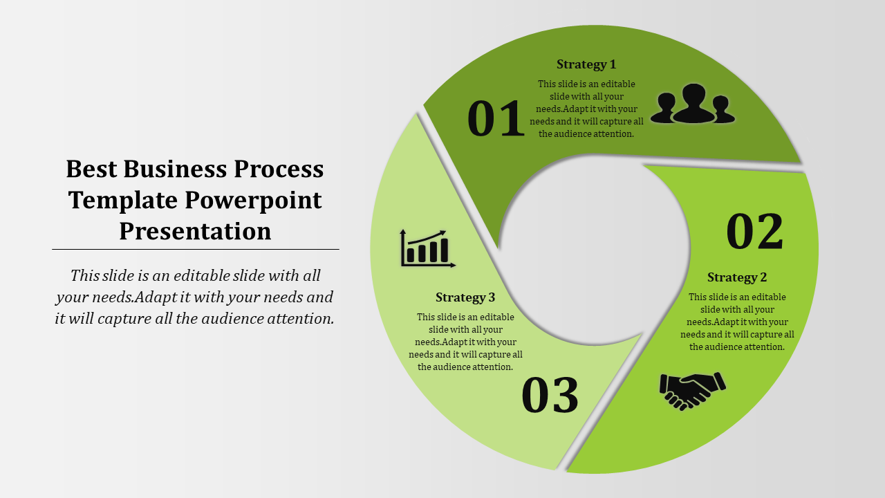 Business Process Template Powerpoint - Geometry Model
