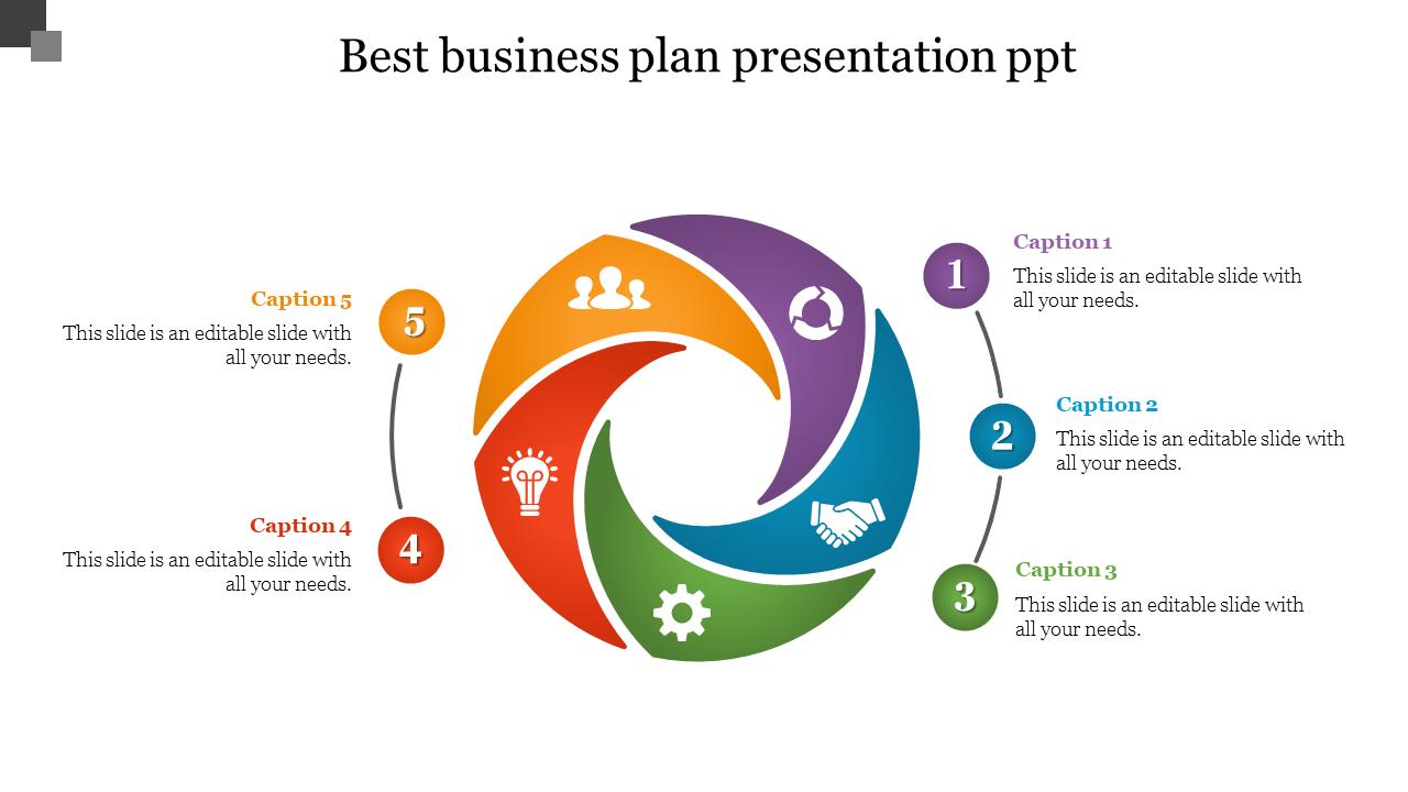 Best Business Plan Template Ppt Presentation Slideegg