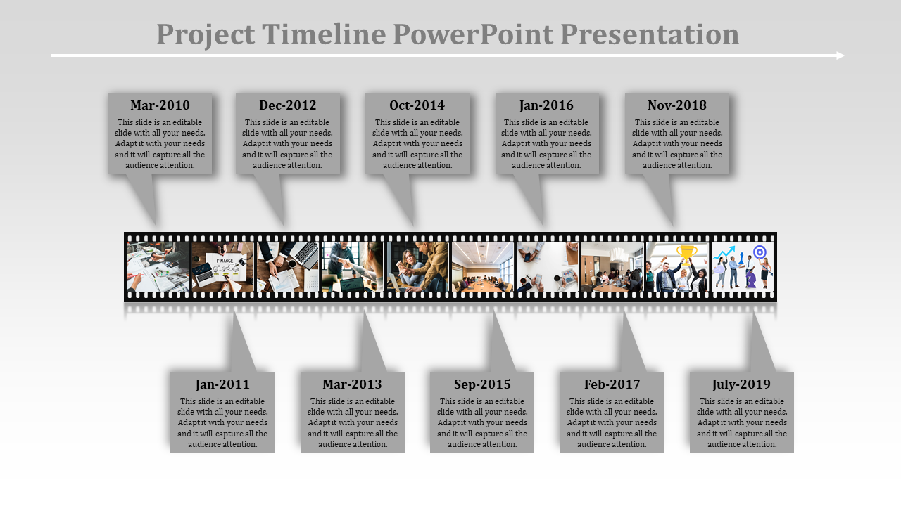 Visualize Project Timeline Powerpoint