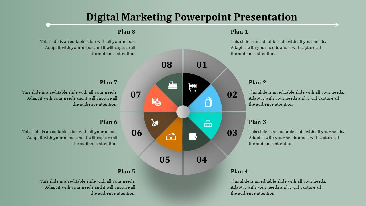 SlideEgg | digital marketing powerpoint presentation-digital