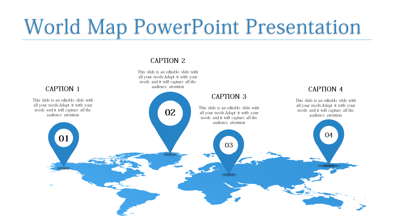 Slideegg World Map Powerpoint Template World Map Powerpoint