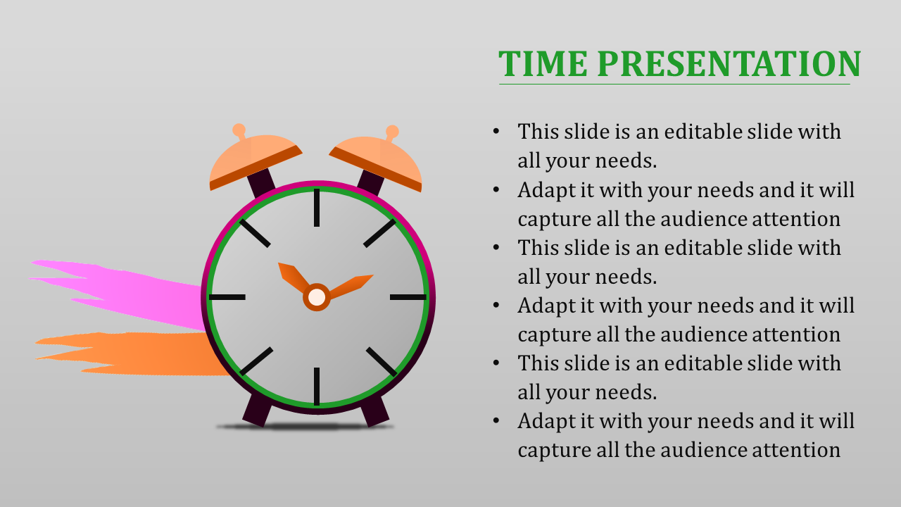 time powerpoint template