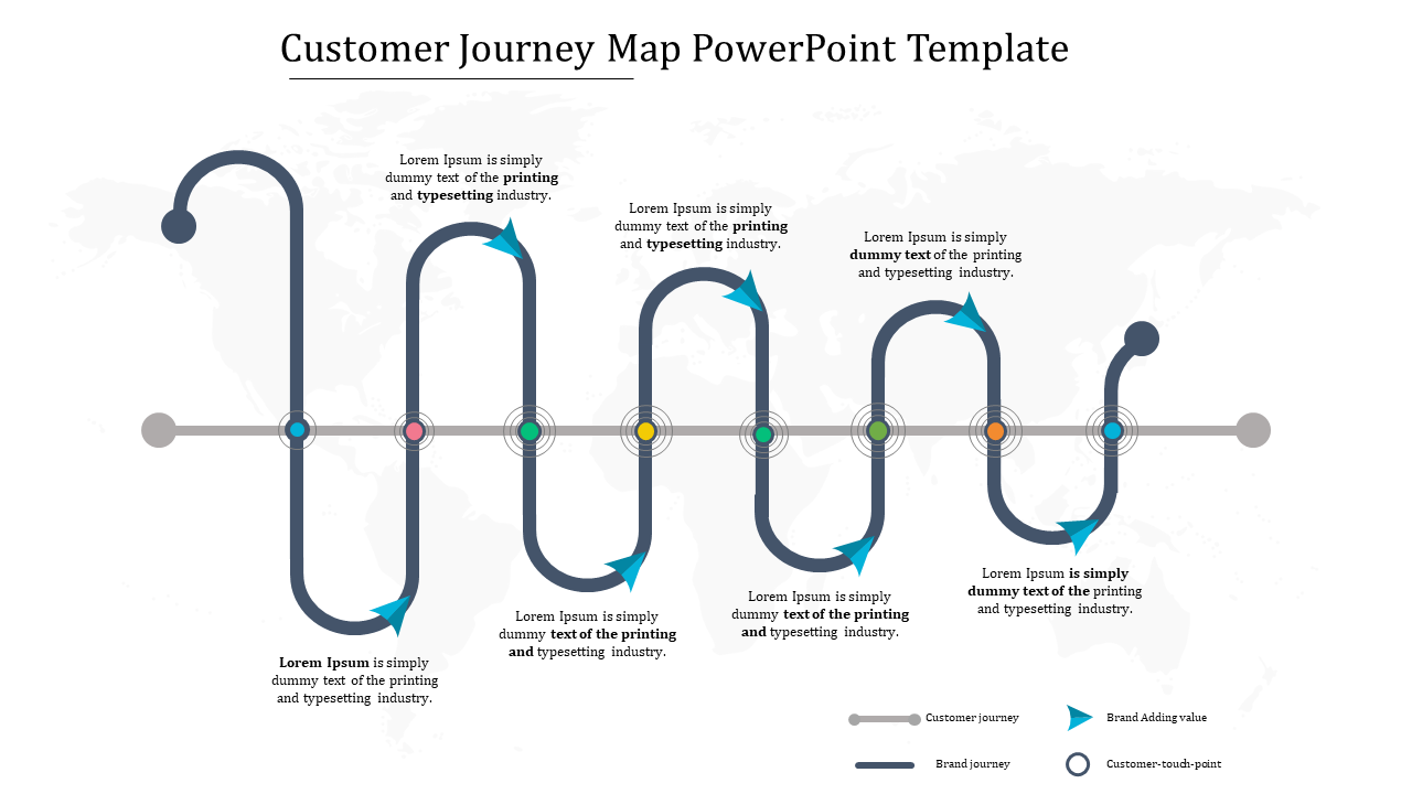 Customer Journey Map Powerpoint Presentation