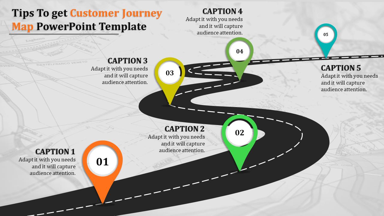 customer journey map ppt slideegg. Black Bedroom Furniture Sets. Home Design Ideas