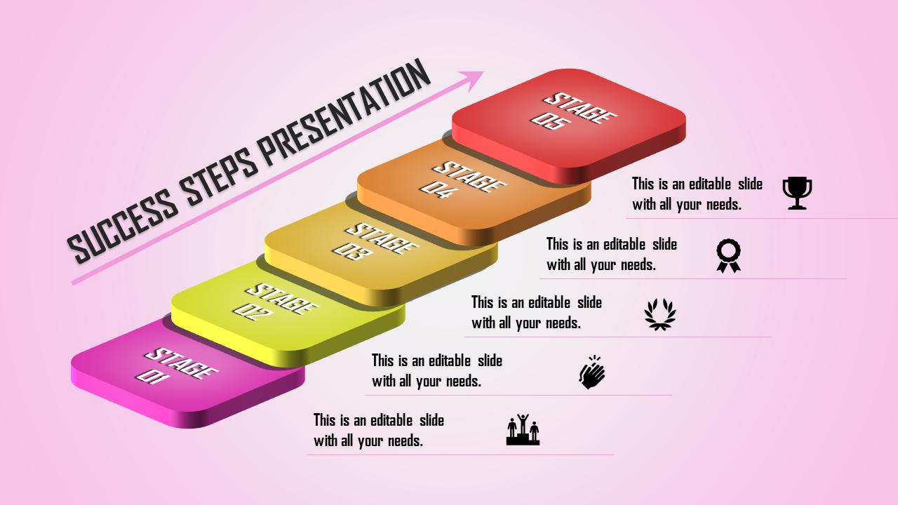 Success Powerpoint Template Slideegg