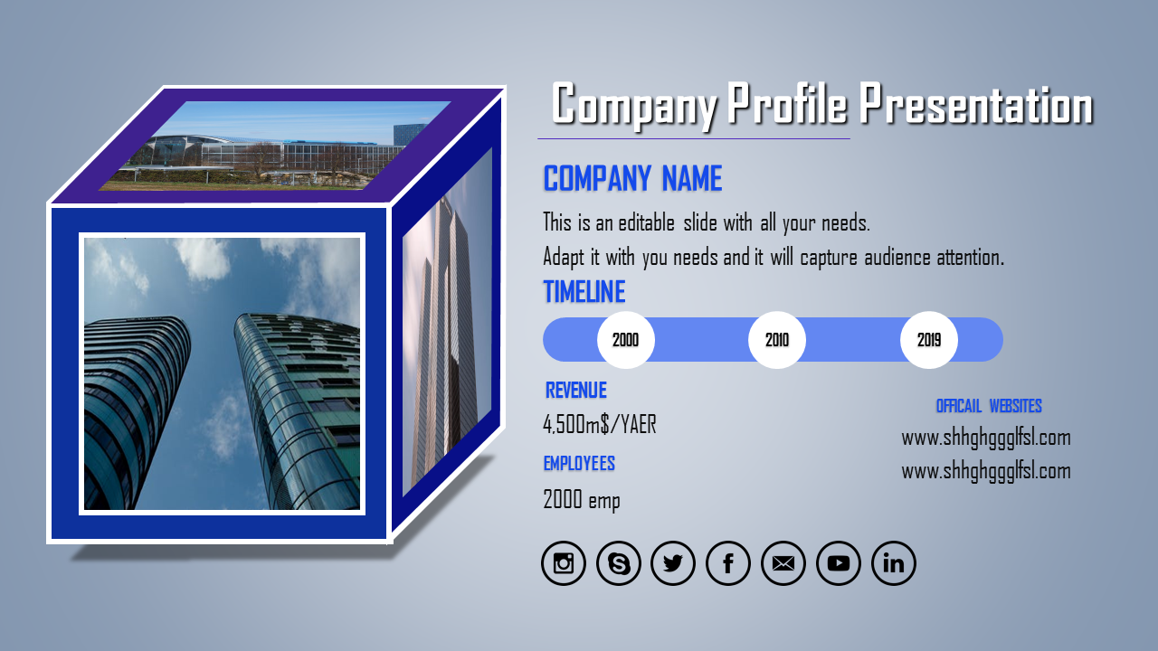 Transport Company Profile Ppt