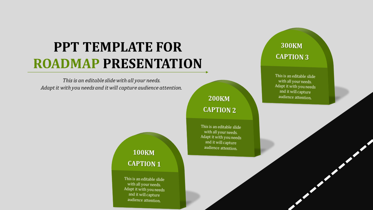 Ppt Template For Roadmap