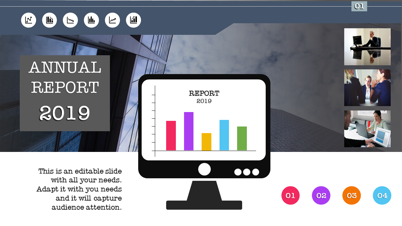Annual Report Template PPT