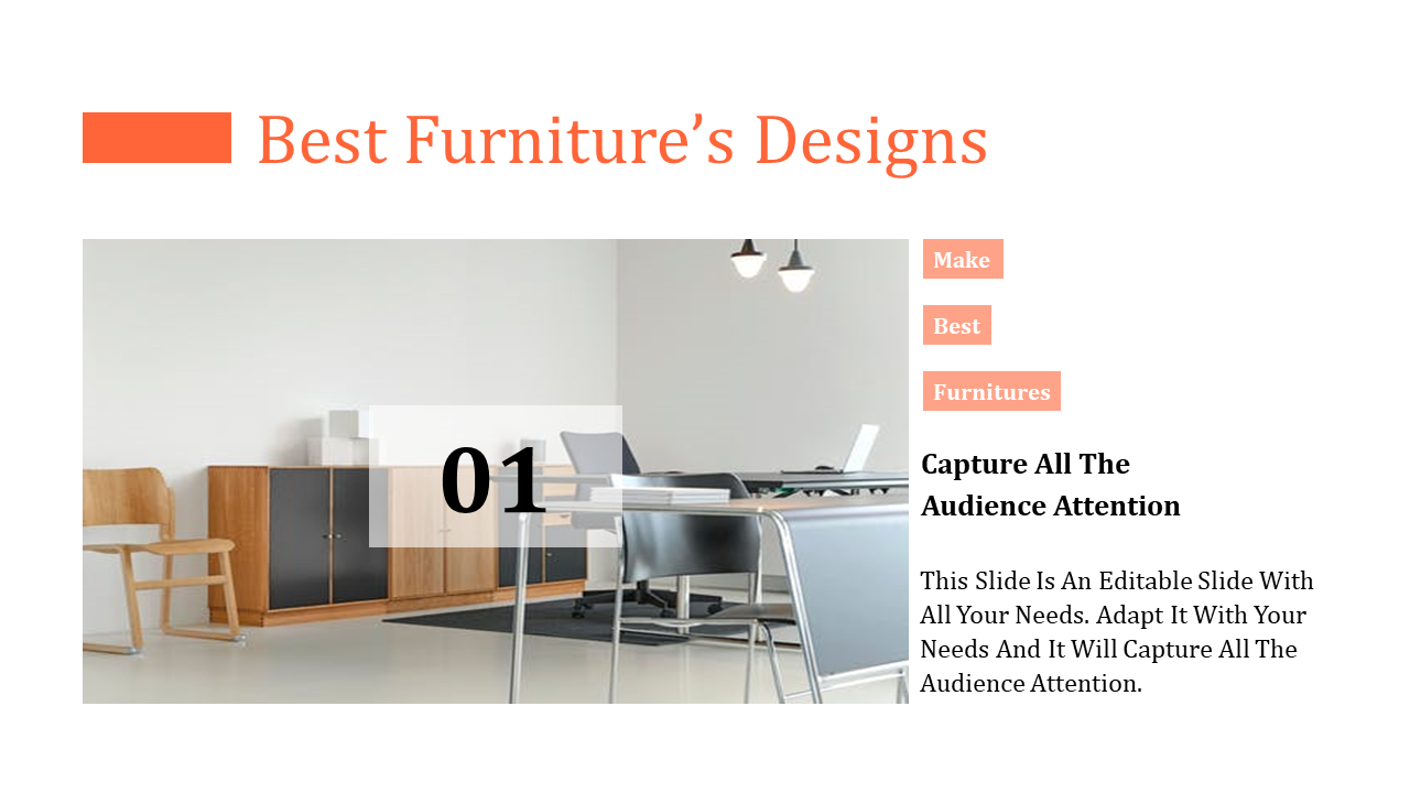 Best Furniture Powerpoint Template Office Setup