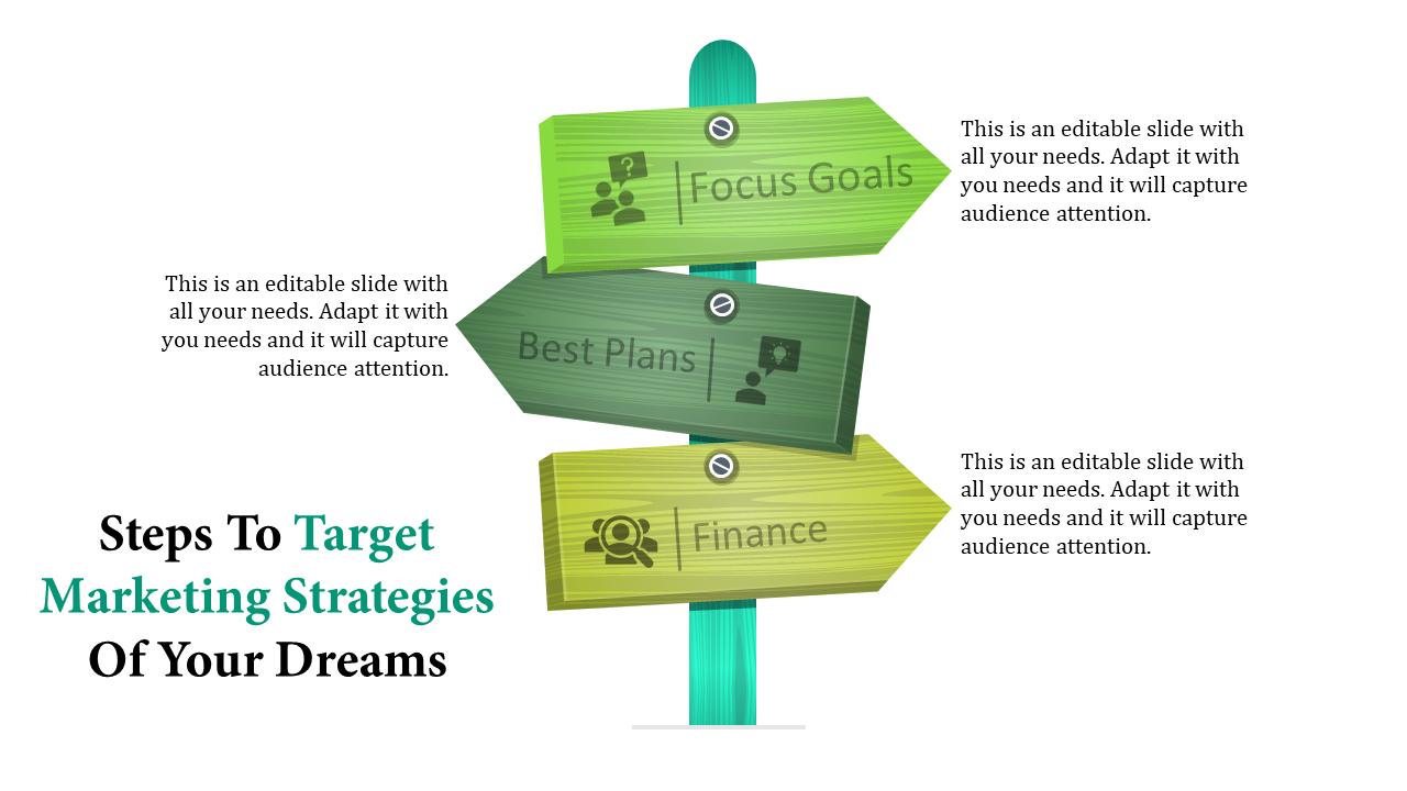 Target Marketing Strategies - Zigzag Direction