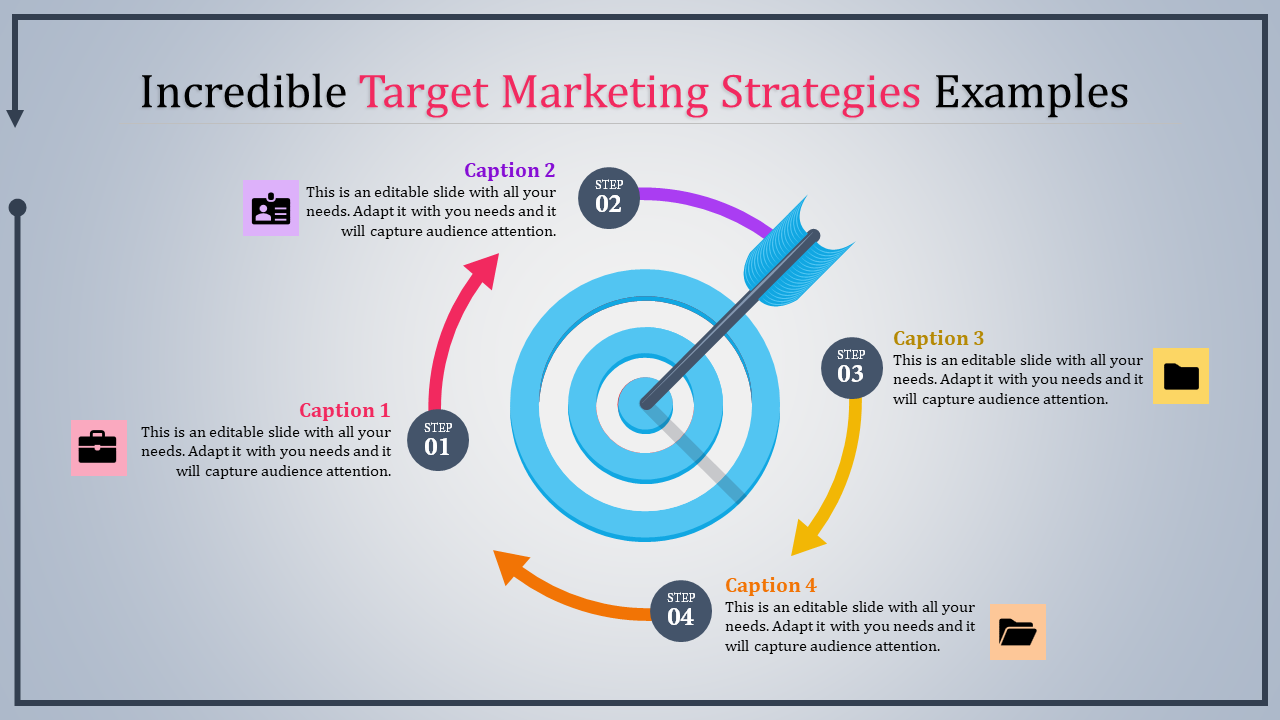 SlideEgg   target marketing strategies-Incredible Target