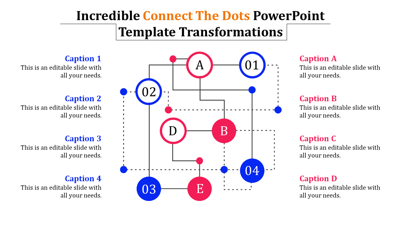 - Connect The Dots Powerpoint Template - Puzzle- SlideEgg