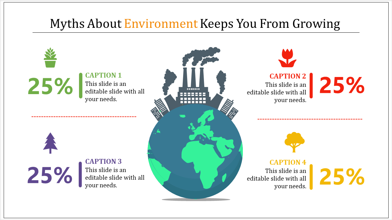 Industrial environment powerpoint template