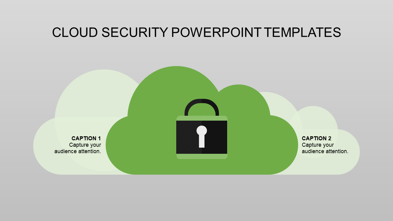 Lock Security Powerpoint Templates