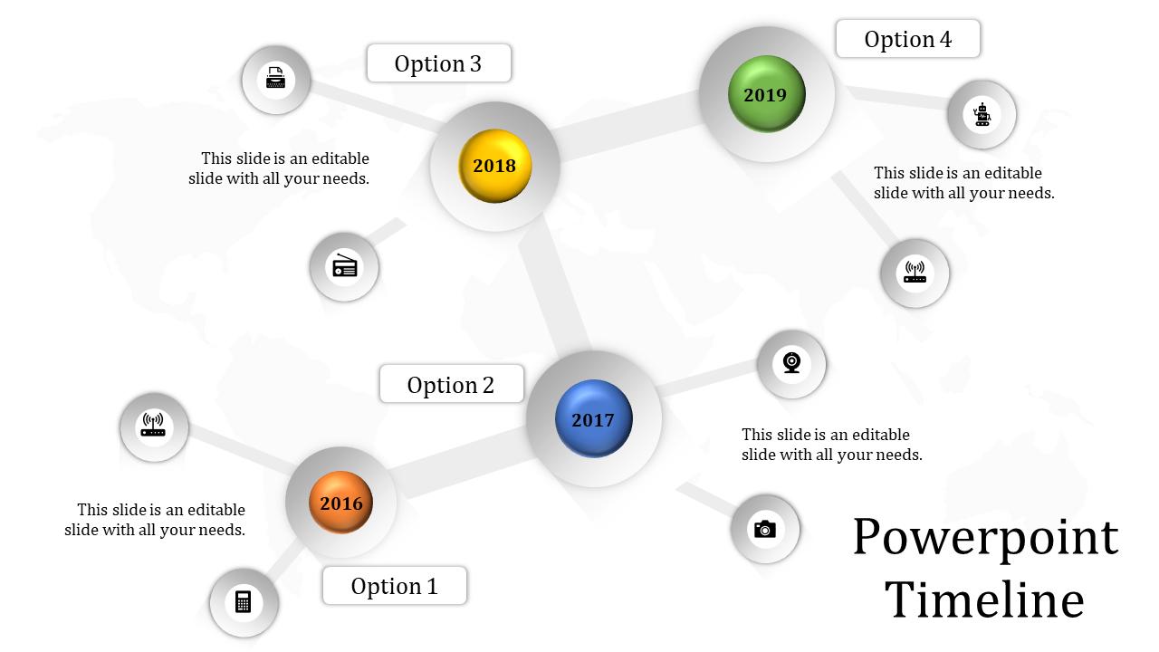Powerpoint Timeline Web Model