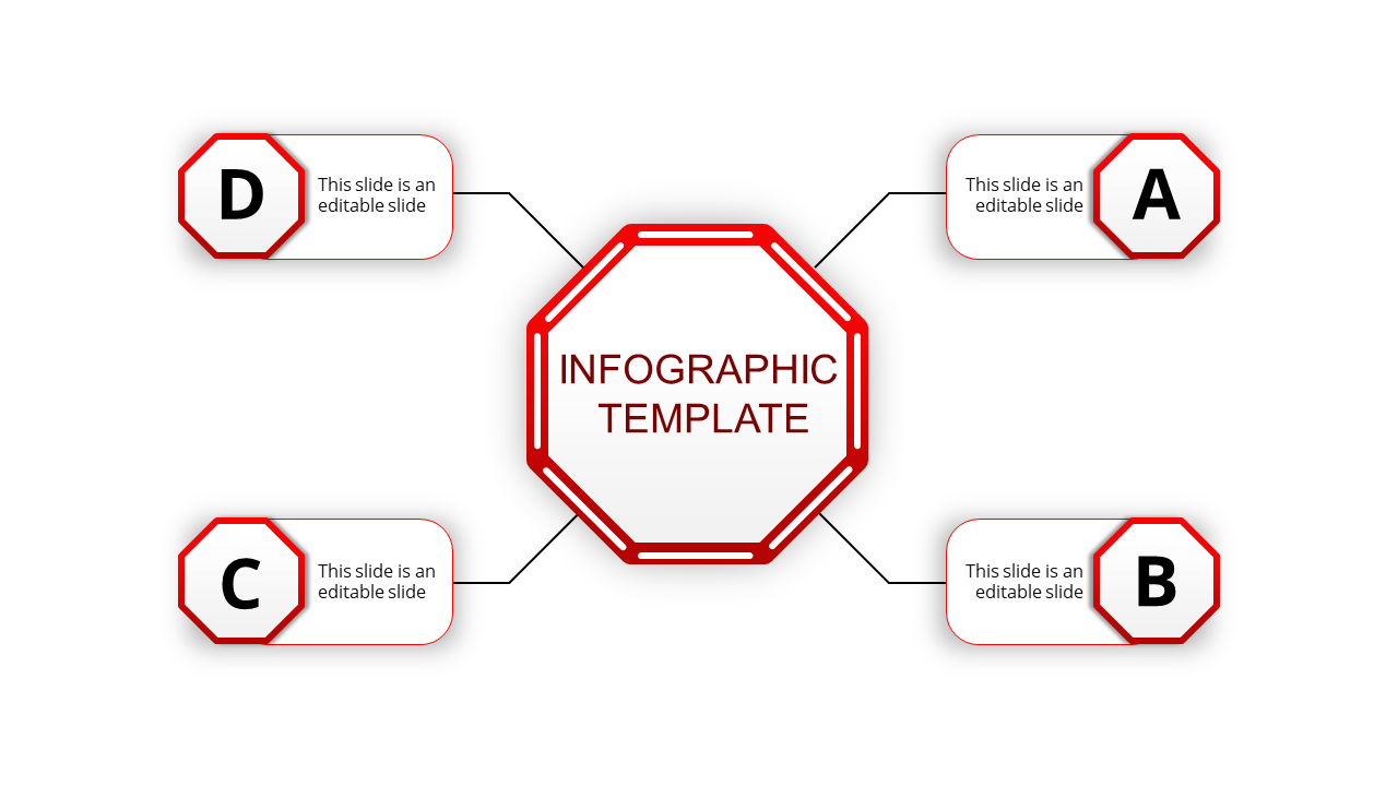 Business sample infographic presentation
