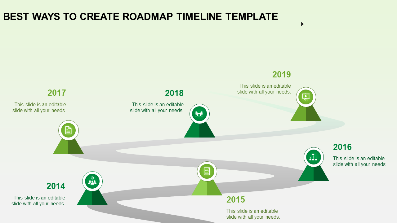 Process Timeline Template from www.slideegg.com