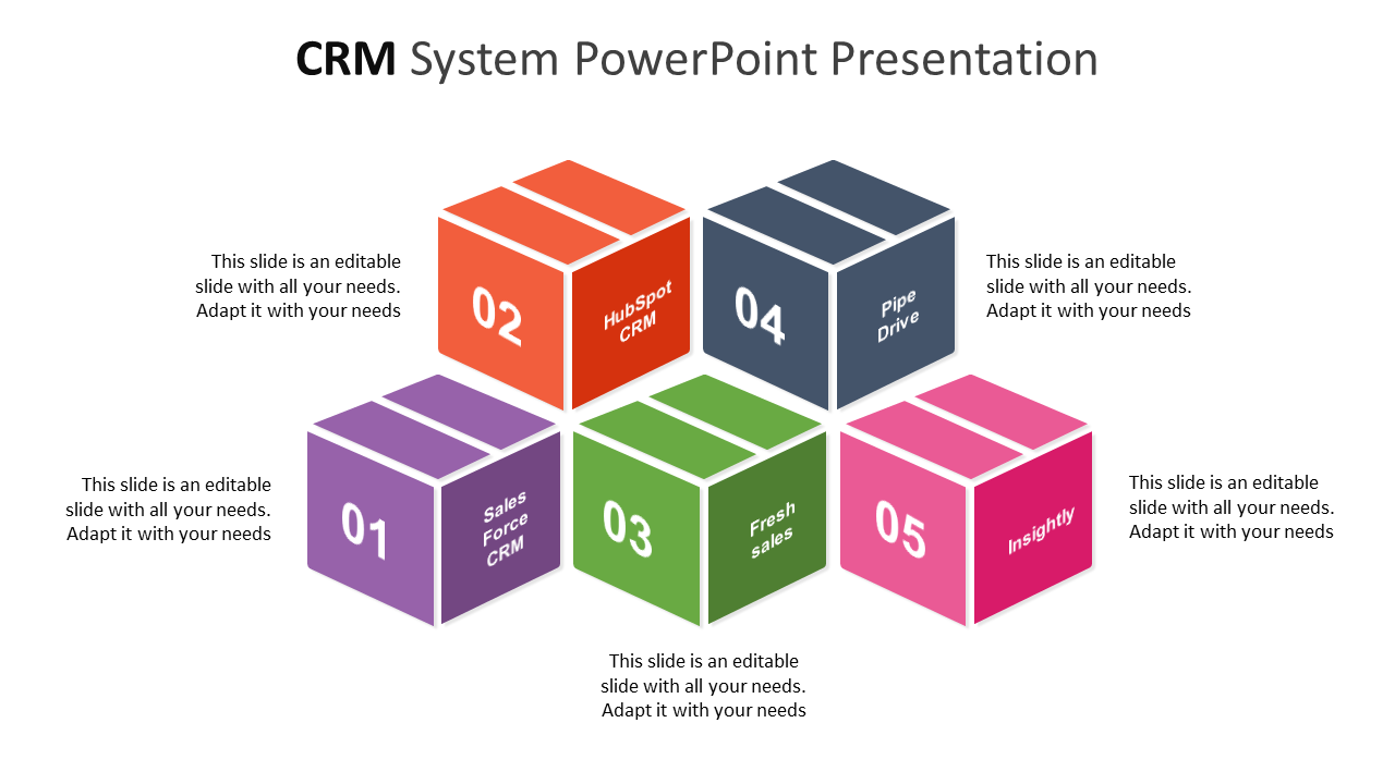 Free CRM System PowerPoint Presentation