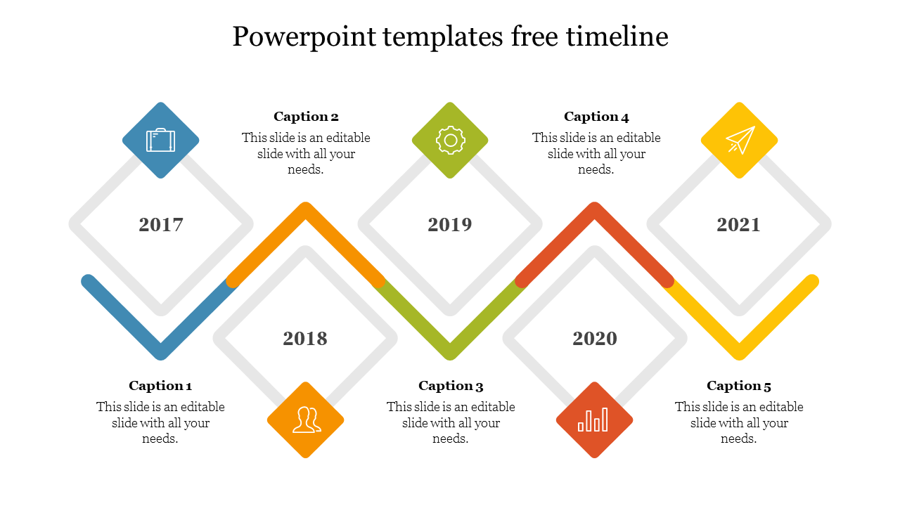 PowerPoint Templates Free Timeline