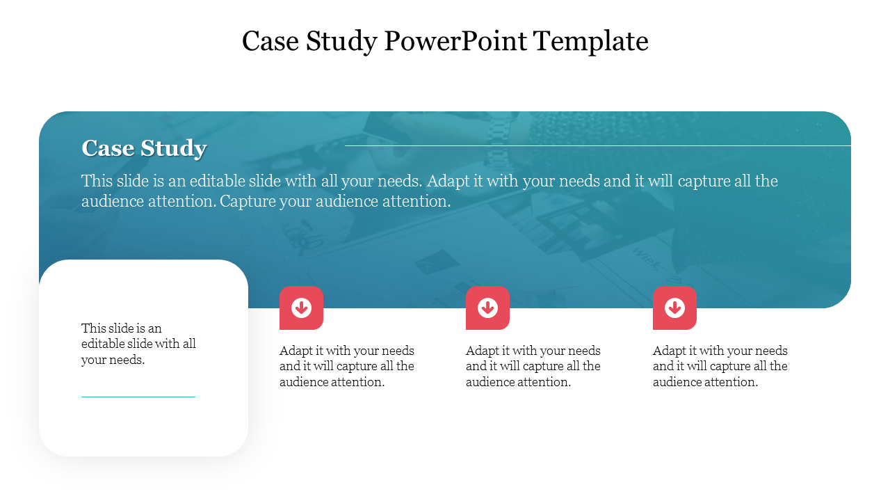 Business Case Study PowerPoint Template