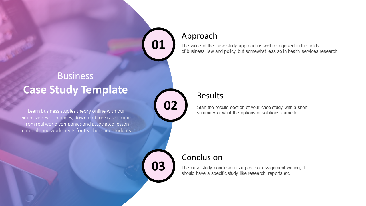 Best Business Case Study Template In PowerPoint