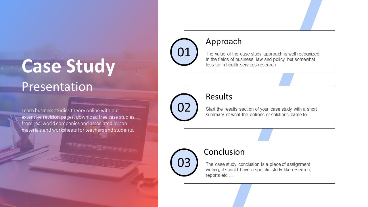 Best Case Study Presentation Template