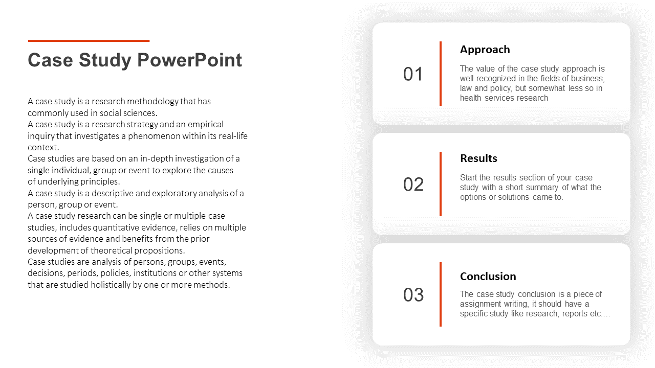Case Study PowerPoint Presentation