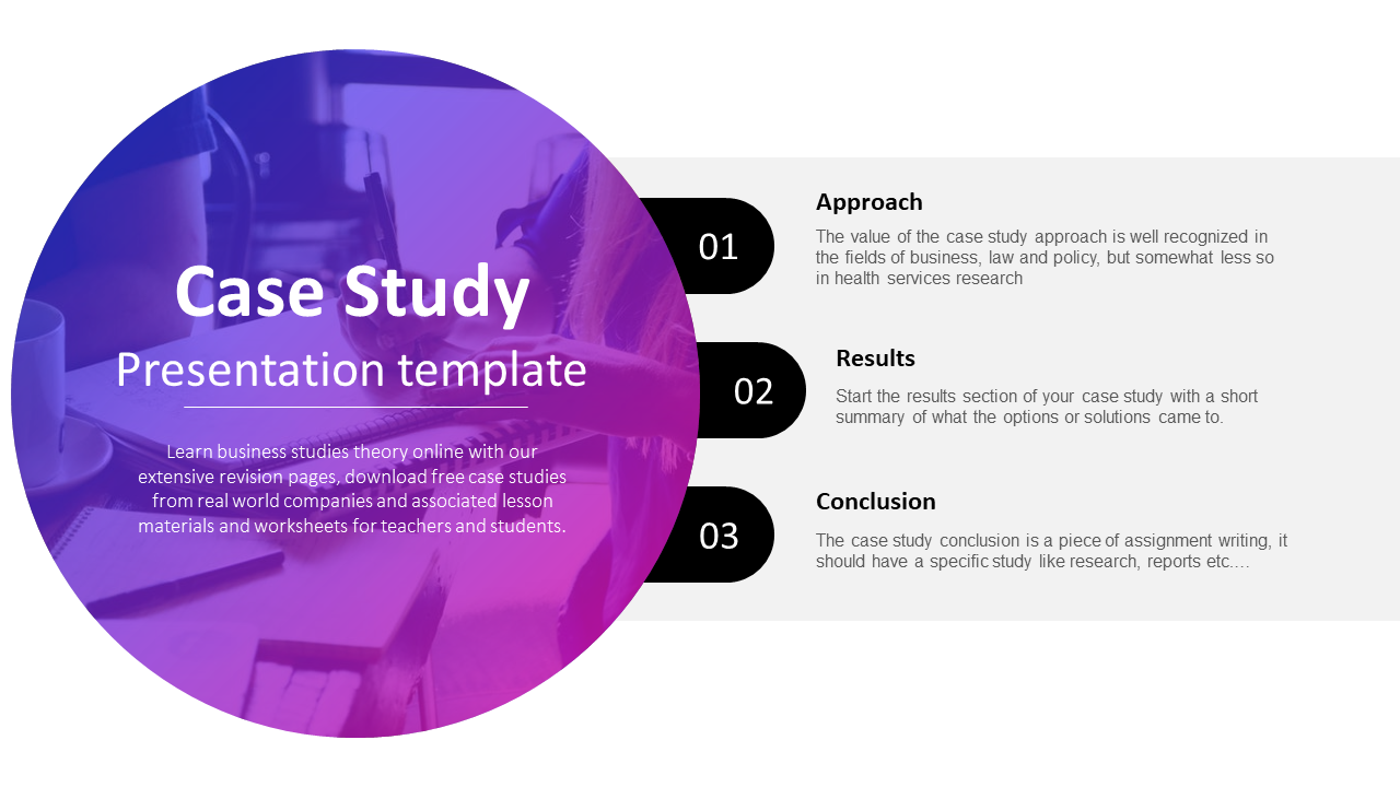 Best PowerPoint Case Study Presentation Template