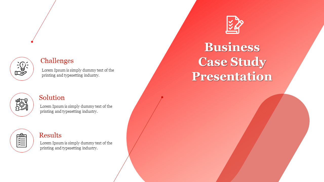 Business Case Study Presentation Template