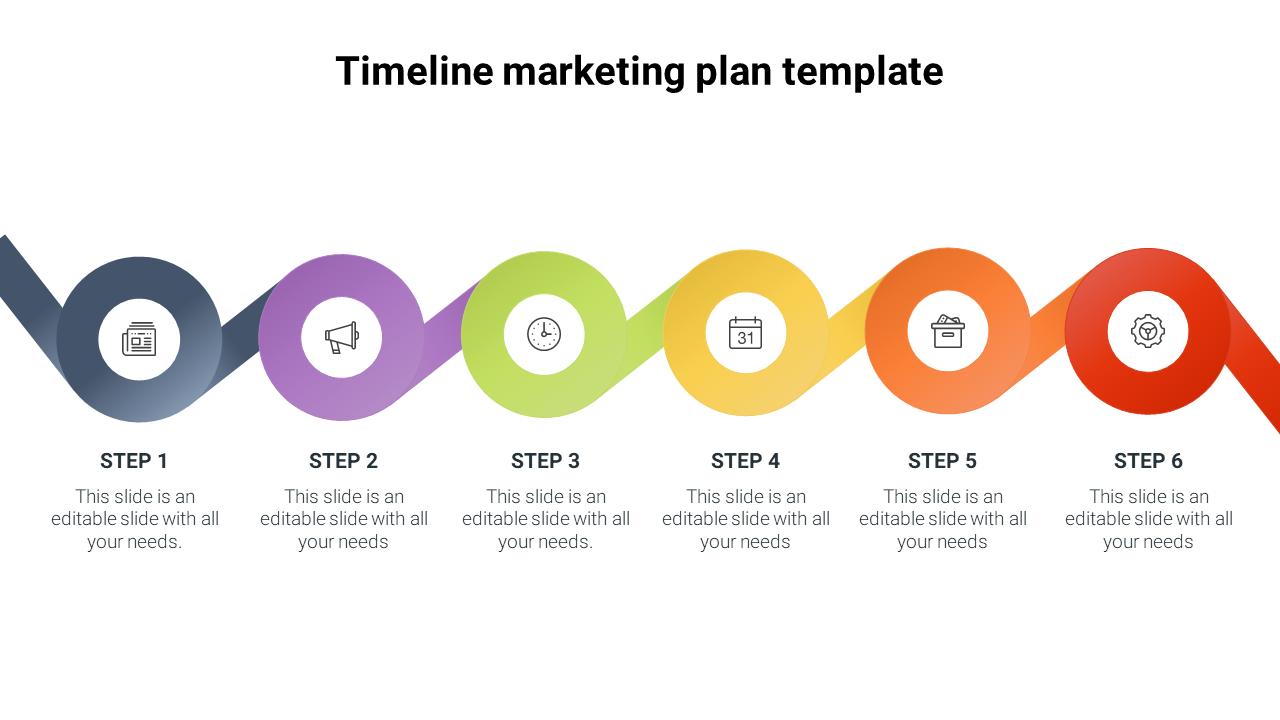 Best Timeline Marketing Plan Template- SlideEgg